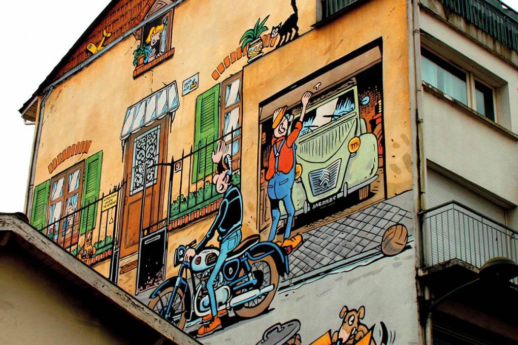 intercroisieres :: Week-end 2 jours : Croisière fluviale vers Angoulême, capitale de la bande dessinée