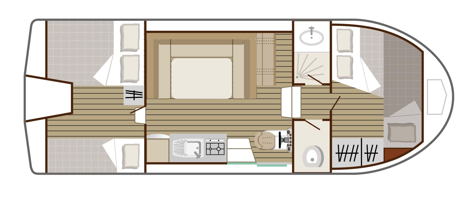 Plan Nicols Riviera 920, intercroisieres