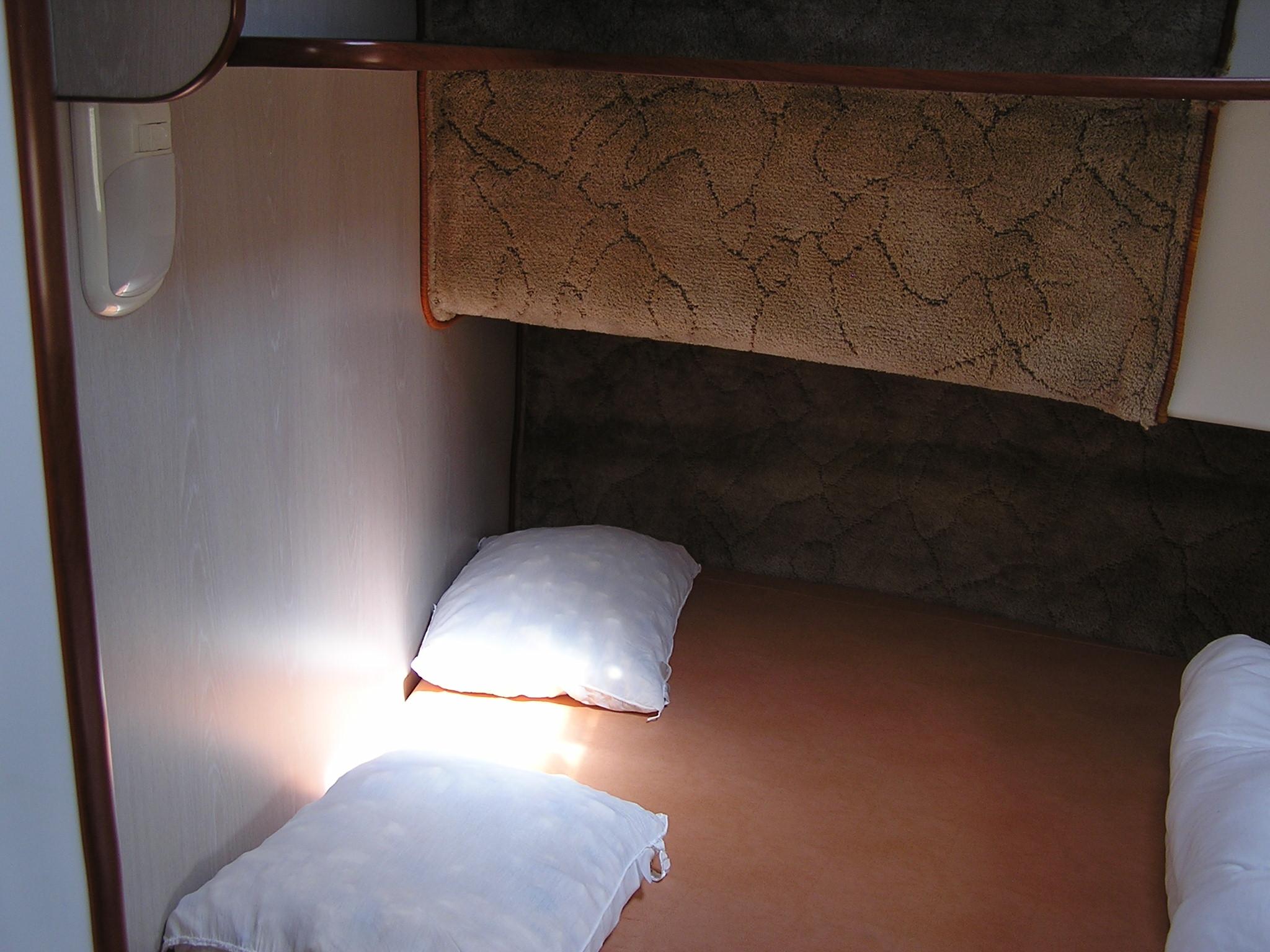 Nicols Confort 900 vue chambre avant Charente Sireuil Intercroisieres