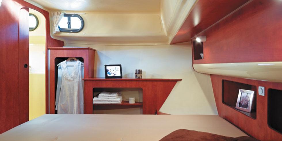 Nicols estivale SIXTO chambre avant sireuil charente Inter Croisieres