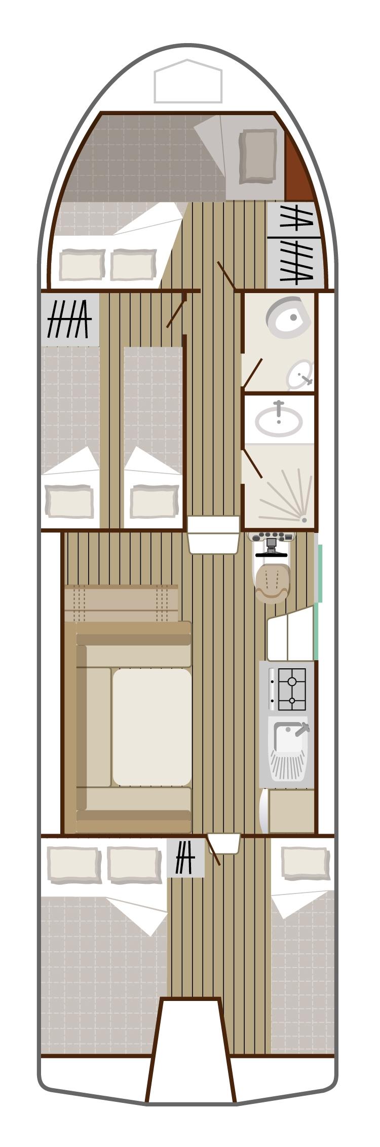Structure Nicols Riviera 1120, intercroisieres